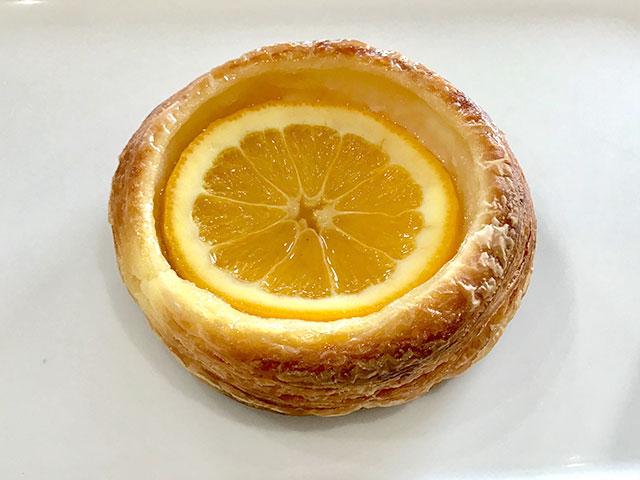 和歌山県産みかんジャムとクリームチーズデニッシュ