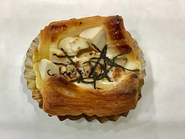 里芋とエリンギのゴーダチーズデニッシュ